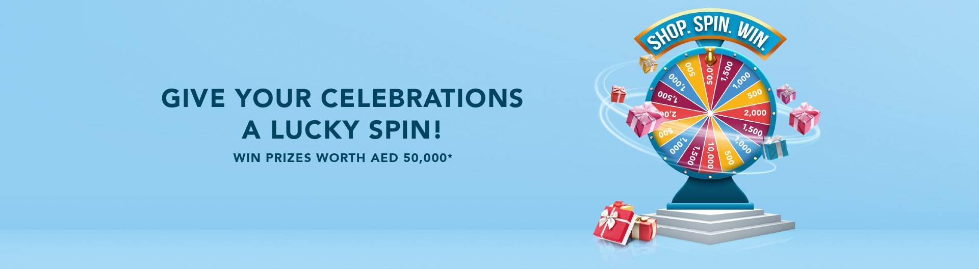 Give Your Celebrations a Lucky Spin!